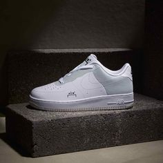 huge discount bd134 09459 A COLD WALL x Nike Air Force 1 White  Grey