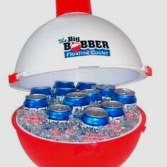 Floating cooler for those lazy days on the river.