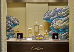 Julien Colombier, CARTIER, windows display 2015