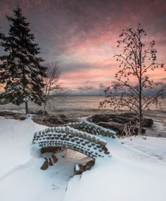 Bridge The Gap by thomas spence on Capture Minnesota // The wonderful cobblestone structures in Tofte Park at sunrise