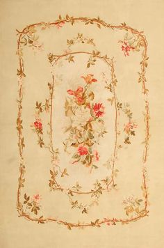 Antique Aubusson French Rug 43802 Detail/Large View - By Nazmiyal Textiles, Aubusson Rugs, Vitrine Miniature, French Rococo, Magic Carpet, Cushion Fabric, French Decor, Persian Carpet, Rare Antique