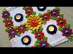 Dasara Diwali special rangoli with Swastik design Easy Rangoli Designs Diwali, Simple Rangoli Designs Images, Rangoli Designs Latest, Rangoli Designs Flower, Rangoli Border Designs, Small Rangoli Design, Colorful Rangoli Designs, Rangoli Ideas, Diwali Rangoli