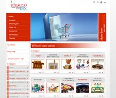 Oriental CIS ( Tobacco Inn Website Design )