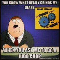 I hate this 'judo chop' no, just no!!!!!!!!!!!!!!!!!!!!