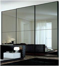 super lustrzana szafa wnękowa do sypialni