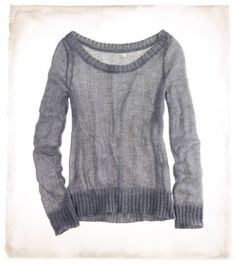 Aerie Light As Air Mohair Sweater : LOVE this for throwing over a tank or cami.