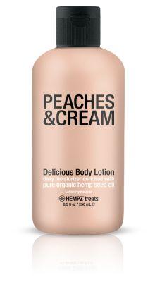 Hempz Treats Peaches & Cream Body Lotion. Smells like peach rings LITERALLY! yumm!!