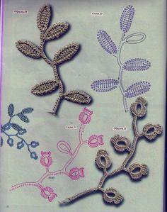 hojas.crochet patron
