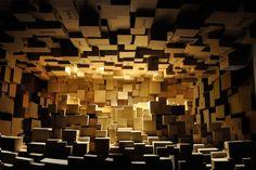 Risultati immagini per cardboard scenography