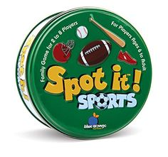 AmazonSmile: Spot It! Sports Card Game: Toys & Games