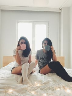 Me my bestie drinks coffee together we are twins sister with the same name