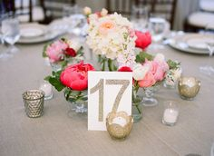 #gold, #glitter, #table-number  Photography: Christina McNeill - christinamcneill.com Floral Design: Poppy Stone - www.poppystonedesigns.com/ Reception Venue: Cornerstone Gardens - www.cornerstonegardens.com