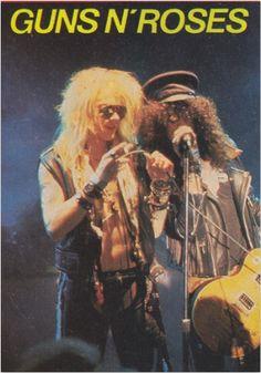 Axl Rose and Slash, Guns N' Roses
