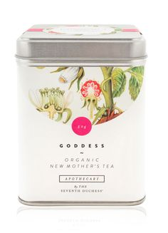 APOTHECARY by The Seventh Duchess | GODDESS - ORGANIC NEW MOTHER'S TEA | 100% organic therapeutic herbal tea.