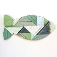 Salvage Wood Fish