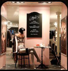 Octobre 2014, Boutique Chantal Thomass, 211 rue Saint-Honoré Paris #ChantalThomass #Lingerie #Paris