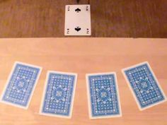 Radiesthesie exercice pendule recherche carte à jouer
