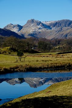 Reflection of Langdales by Keith Grafton, via Flickr
