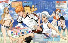 Bleach Ichigo And Rukia, Ichigo Y Orihime, Bleach Manga, Manga Anime One Piece, Anime Manga, Anime Art, Rangiku Matsumoto, Bleach Characters, Music Wallpaper