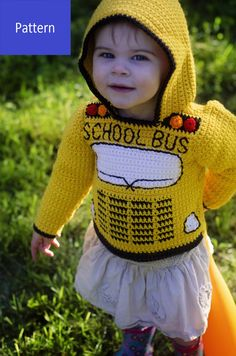 Unisex Clothes, Hoodie Pattern, Animal Projects, Crochet Clothes, Crochet Outfits, Baby Sweaters, Hooded Sweater, Crochet Patterns, Crochet Ideas