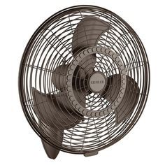 "Kichler 339224 24"" Indoor / Outdoor Wall Mount Fan Satin Natural Bronze Fans Wall Mount Fans Wall Mount Fans"