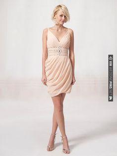 blush bridesmaid dress, so pretty! | CHECK OUT MORE IDEAS AT WEDDINGPINS.NET | #bridesmaids