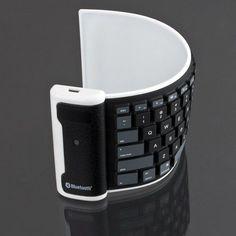 Waterproof Wireless Roll Up Keyboard