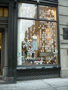 Anthropologie window displays