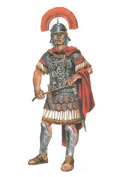 Римский центурион, начало II века н.э.