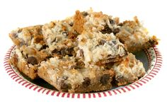 Seven Layer Magic Bars Opens photo in lightbox. Hit Escape or X to exit lightbox. Christmas Treats, Christmas Baking, Christmas Cookies, Christmas Candy, Christmas Stuff, Merry Christmas, Oatmeal Cookies Without Butter, Lemon Recipes, Yummy Recipes