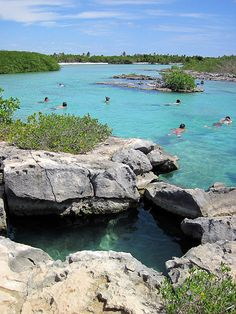 Akumal,Mexico this is yal-ku a snorkeling park. we've been her a few times. love it!