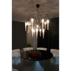 lustres et abats jours on pinterest paper lanterns chandeliers and mason jar chandelier. Black Bedroom Furniture Sets. Home Design Ideas