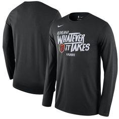 1dda4c1fc2d8d Men s Cleveland Cavaliers Nike Black NBA Playoffs Mantra Legend Long Sleeve  T-Shirt