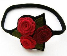 rose hair band