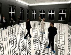 30 of the best optical illusions i've ever seen - Blog of Francesco Mugnai Floor art which alters one's visual perception
