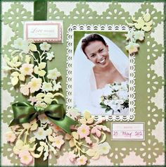 Image result for Anna griffin scrapbook layouts