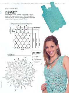 Crochet beauty. She has tons of patterns in charts. Lovely things.