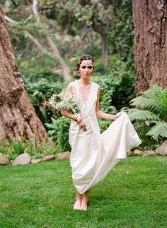 Bohemian bride we adore!
