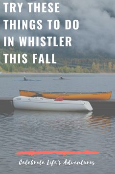 What should you do and see in Whistler during fall? Whether you want to get away for a wellness retreat, plan on eating your way through the weekend, or want to be outdoors and enjoy nature, Whistler is the place to be this fall. It's just 1.5 hours from Vancouver and easy to get to on the Sea to Sky Highway. Columbia Travel, British Columbia, Go Hiking, Hiking Trails, Sea To Sky Highway, Stuff To Do, Things To Do, Spa Offers, 5 Hours