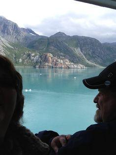Brad and I enjoying the view!