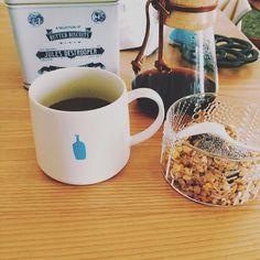 チアシード始めました カエルの卵みたいなんだな 身体に良いらしいどう良いか分からないけど  #coffeegram#coffee#コーヒー部#chemex#ケメックス#handdrip#dripcoffee#bluebottle#bluebottlecoffee #ブルーボトル#ブルーボトルコーヒー #kiyosumimug#flora#フローラ#nuutajarvi#ヌータヤルヴィ #scope#scope_japan #スコープ#グラノーラ#granola#チアシード#chiaseeds#清澄マグ#プチプチの食感 http://ift.tt/1U25kLY
