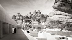 """Gallery of Wendell Burnette Architects Designs """"Mirage"""" Hotel for Saudi Arabia's 1st UNESCO Site - 13"""