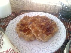 Oatmeal Waffles Oatmeal Waffles, Brown Sugar Oatmeal, Oat Flour, Macaroni And Cheese, Pie, Breakfast, Ethnic Recipes, Desserts, Middle