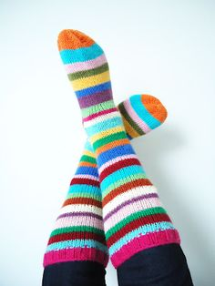 Color-therapy socks <3