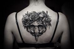 Ien Levin from. Kiev, Ukraine.  He works only in black ink. Reminds me of macabre woodblocks. ienlevin.com