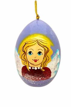 Angel Egg, $6.00, Catalog of St Elisabeth Convent. #CatalogOfGoodDeed #icon #handmade #church #Christianity #buy #order #online #angel. http://catalog.obitel-minsk.com/ministry