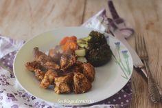 Pollo asado tradicional con verduras al horno, receta con bolsa de asar