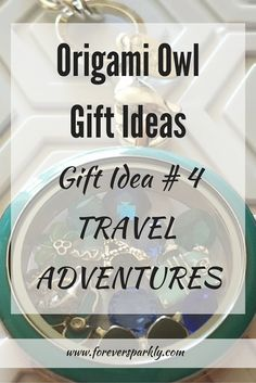 Looking for unique gift ideas? Consider Origami Owl jewelry! One idea is to celebrate a special travel adventure! Click to see 5 more Origami Owl Gift Ideas!