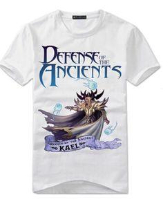 DOTA 2 hero kael white t shirt for men xxxl- Dota 2 T Shirt, Dota2 Heroes, Defense Of The Ancients, Tee Shirts, Tees, Shorts, Ruby Pendant, Mens Tops, How To Wear