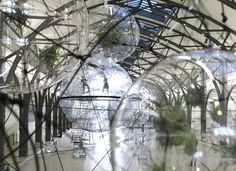 Tomás Saraceno/  Cloud Cities  http://www.phaidon.com/agenda/architecture/events/2011/september/15/tomas-saracenos-biospheres-float-into-berlin/